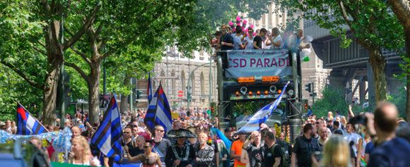 'Christopher Street Day (CSD) Parade', Berlin. Source:  Visit Berlin www.visitberlin.de